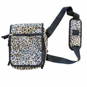 Heys USA Animal Print Travelmate V3 Crossbody Bag